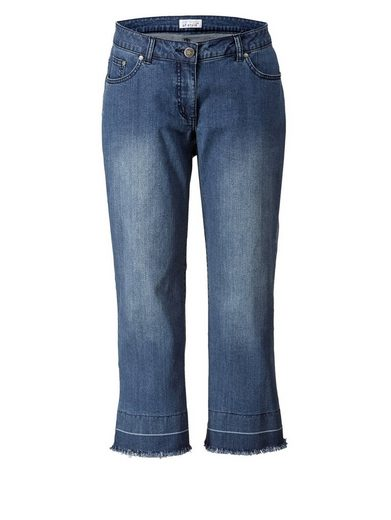 Angel of Style by Happy Size Straight Cut Jeans