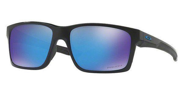 Oakley Herren Sonnenbrille »MAINLINK OO9264«, schwarz, 926421 - schwarz/blau