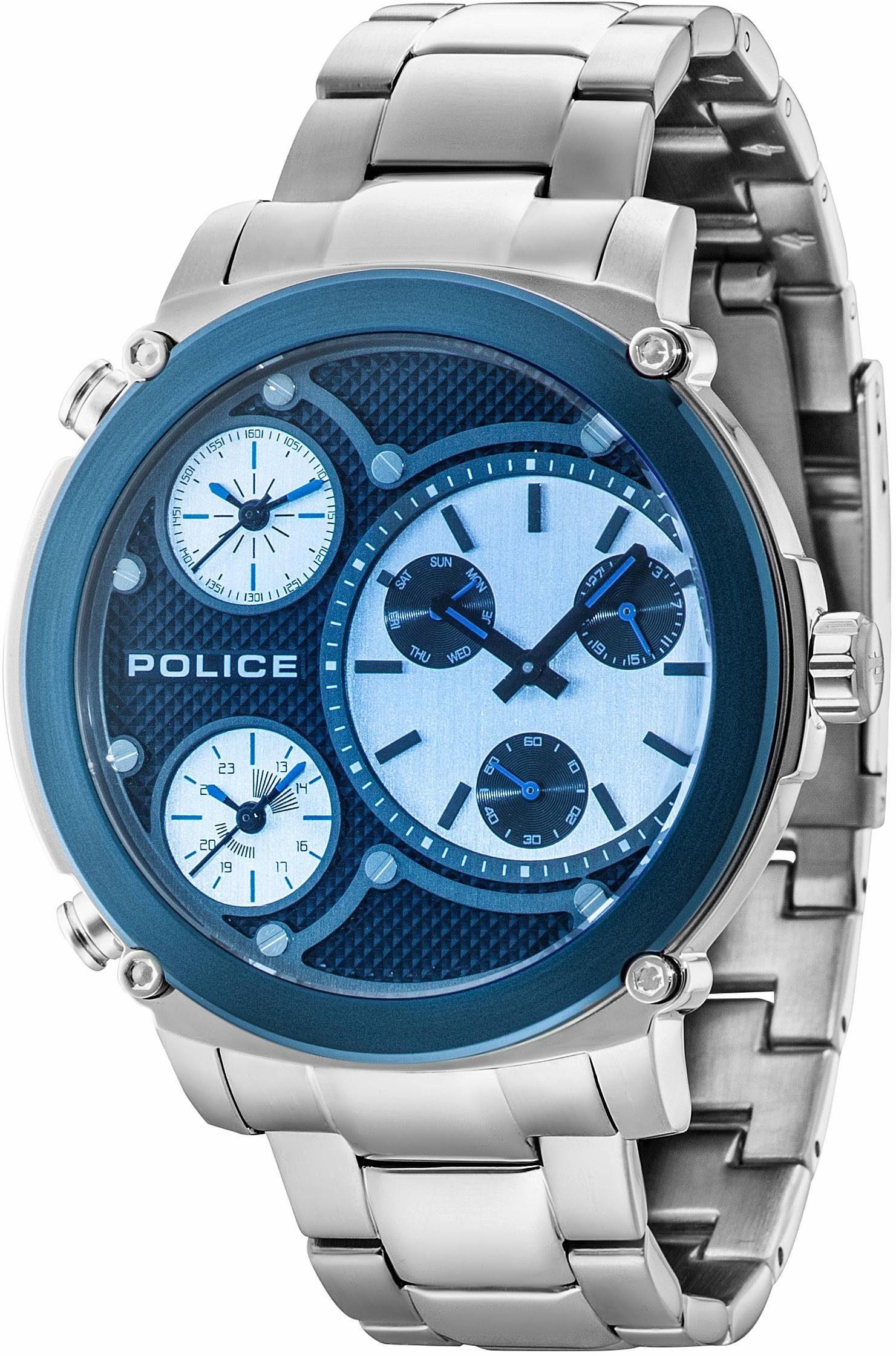 Police Chronograph »TITAN, PL14830JSTBL.02M«