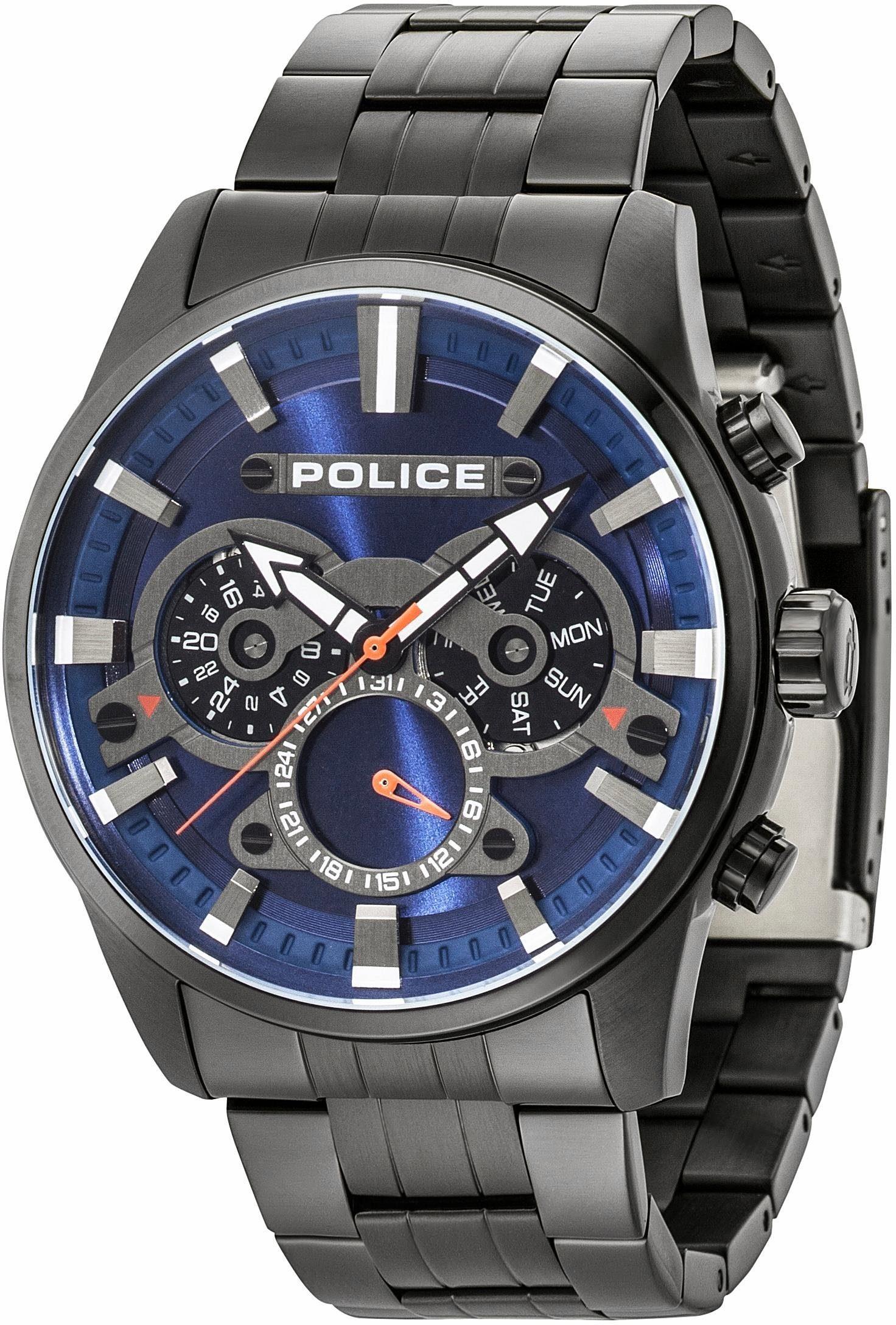 Police Multifunktionsuhr »LANSING, PL14834JSB.03M«