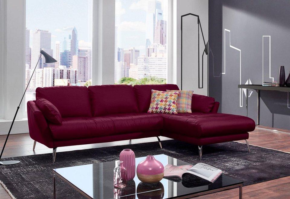 w schillig ecksofa softy mit heftung im sitz otto. Black Bedroom Furniture Sets. Home Design Ideas