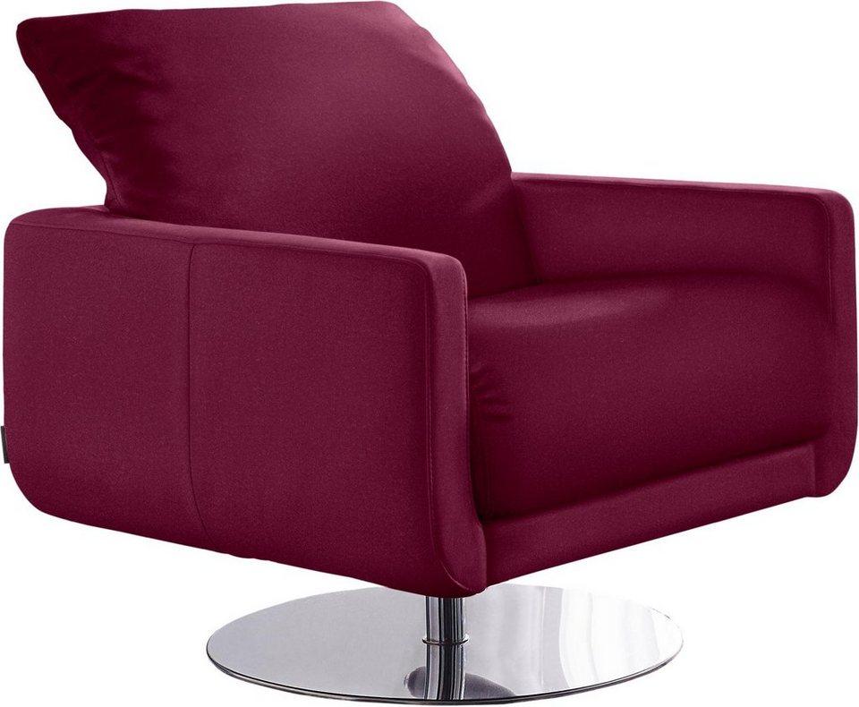 w schillig armlehnen sessel mademoiselle mit kopfst tzenverstellung und drehteller online. Black Bedroom Furniture Sets. Home Design Ideas