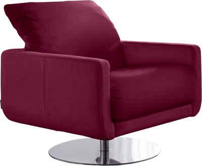 W.SCHILLIG Sessel »mademoiselle«, mit Kopfstützenverstellung und Drehteller