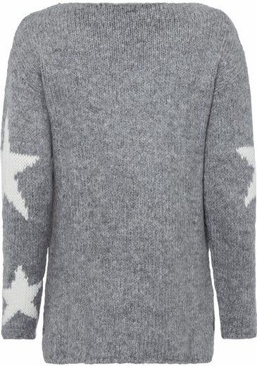 Key Largo Vokuhila-Pullover Pullover