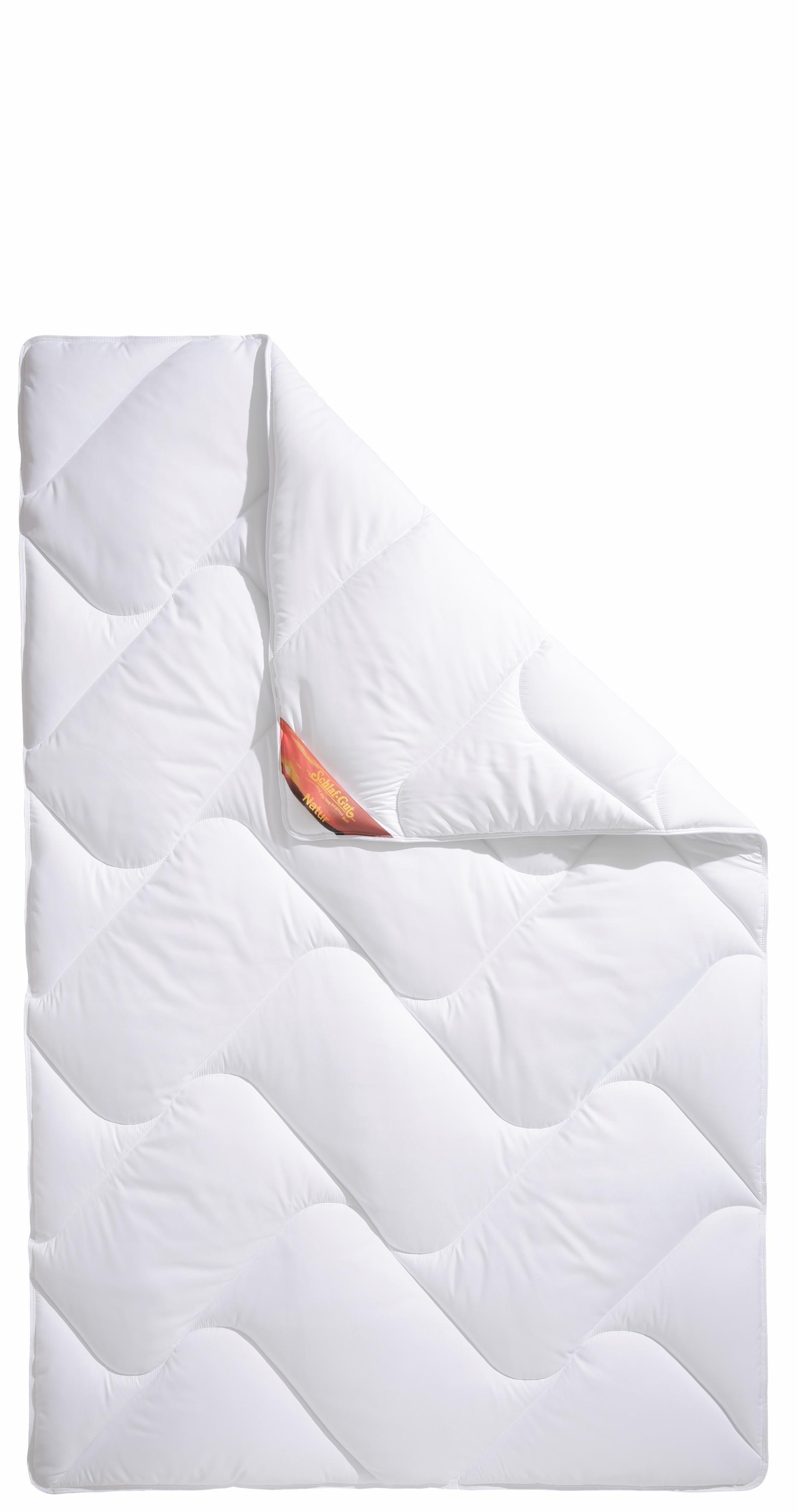 Kunstfaserbettdecke, »Proneem«, Schlaf-Gut, normal, (1-tlg), mit Mikrofaser-Bezug | Heimtextilien > Decken und Kissen > Bettdecken | Schlaf-Gut