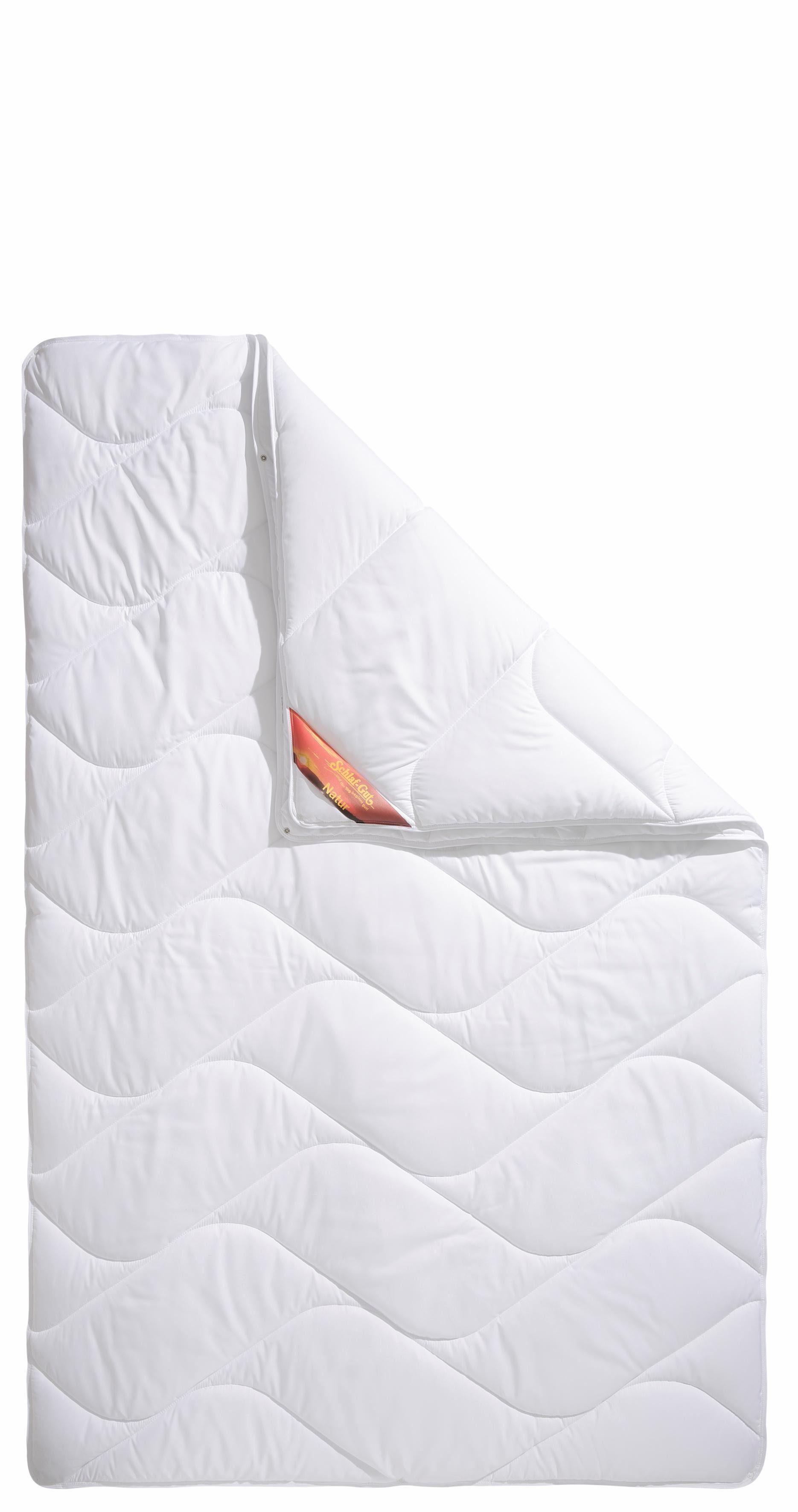 4-Jahreszeitenbett, »Proneem«, Schlaf-Gut, 4-Jahreszeiten, Bezug: 100% Baumwolle, (1-tlg), mit Baumwoll-Bezug