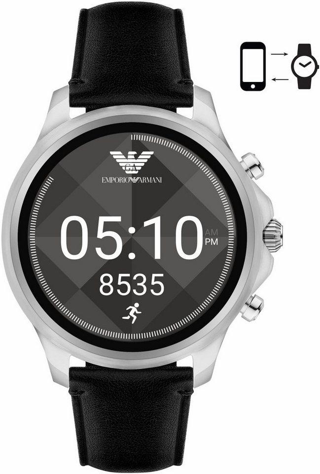 emporio armani connected art5003 smartwatch android wear mit individuell einstellbarem. Black Bedroom Furniture Sets. Home Design Ideas