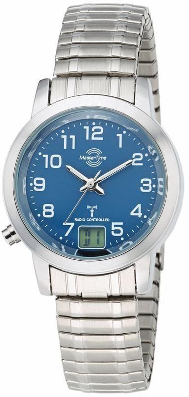 MASTER TIME Funkuhr »MTLA-10492-32M«