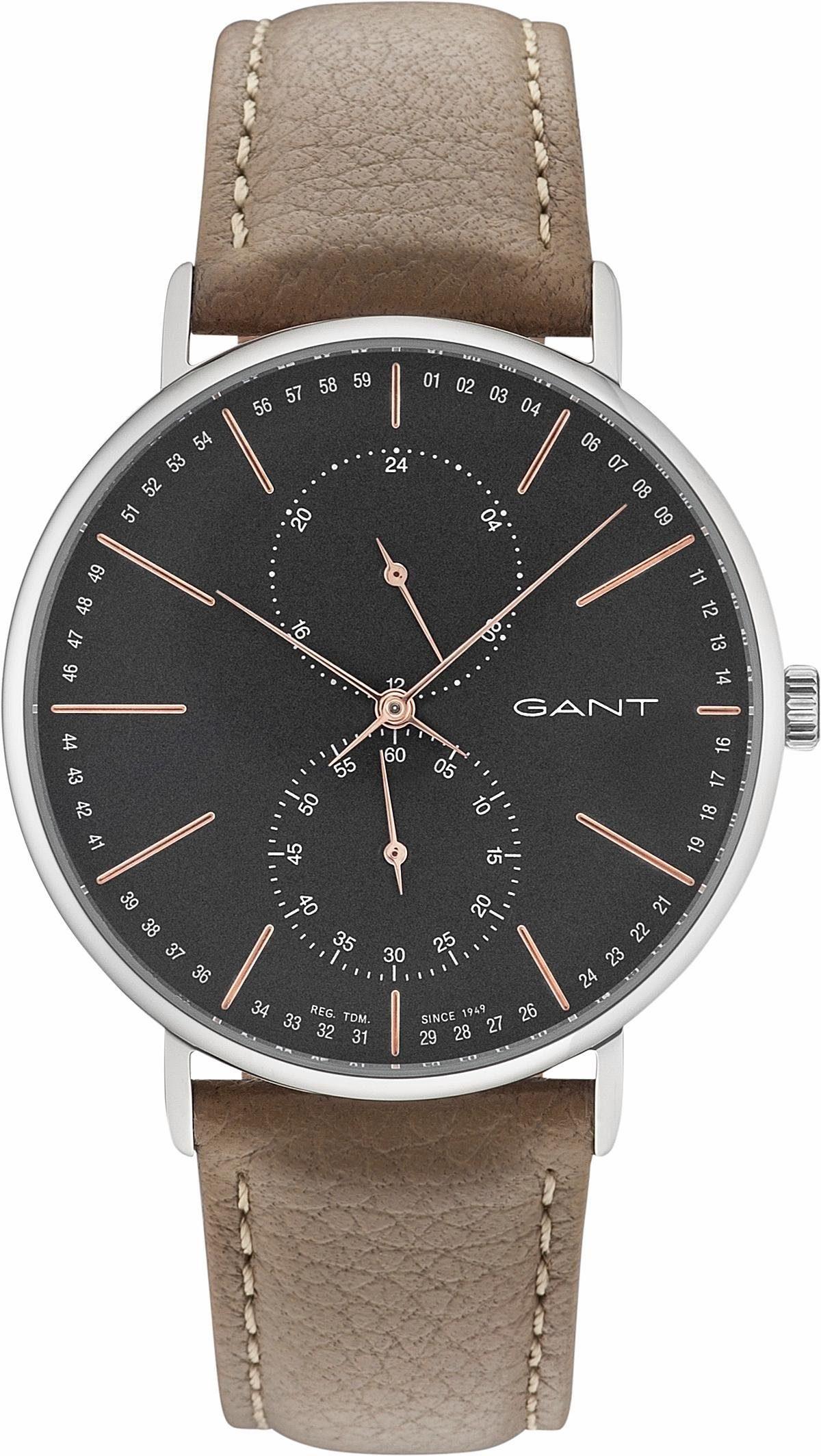 Gant Multifunktionsuhr »WILMINGTON, GT036009«, mit kleiner Sekunde
