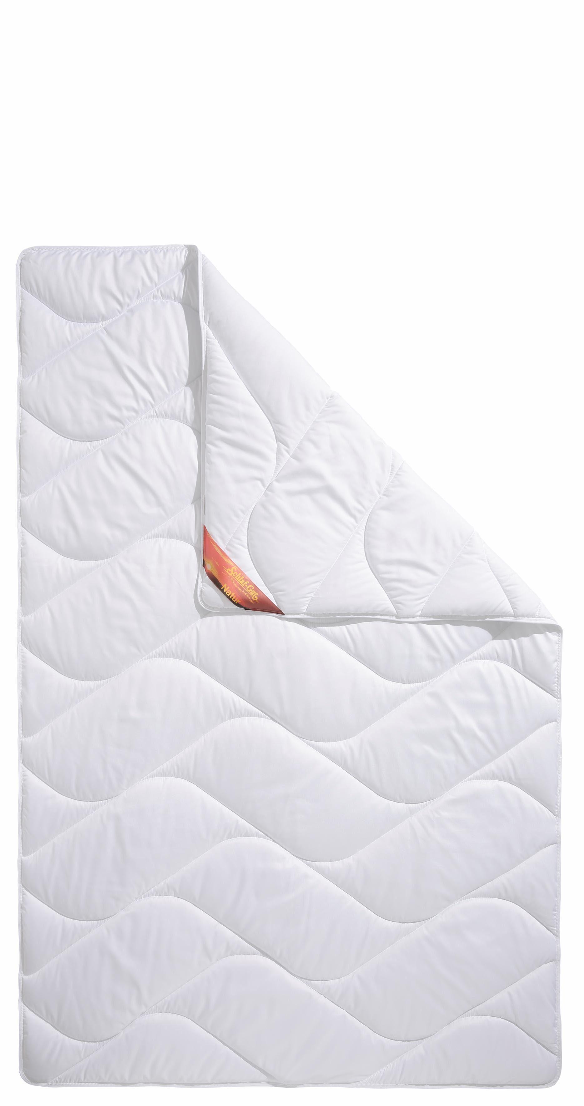 Microfaserbettdecke, »Proneem«, Schlaf-Gut, leicht, Füllung: 100% Polyester aus recycelten Materialien, Bezug: 100% Baumwolle, (1-tlg), mit Baumwoll-Bezug