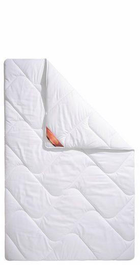 Kunstfaserbettdecke, »Proneem«, Schlaf-Gut, warm, Bezug: 100% Baumwolle, (1-tlg), mit Baumwoll-Bezug