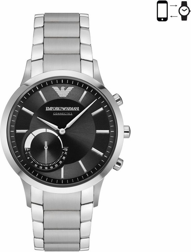 emporio armani connected art3000 smartwatch android wear online kaufen otto. Black Bedroom Furniture Sets. Home Design Ideas