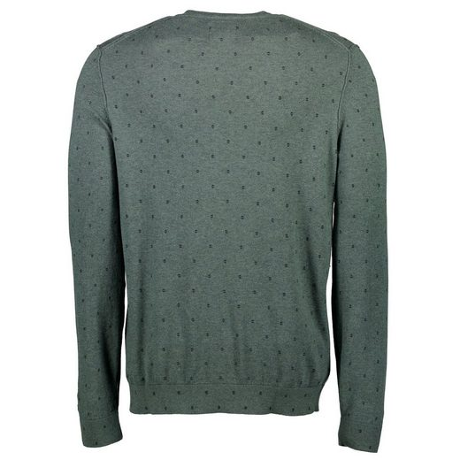 LERROS Rundhals-Sweat mit Alloverprint
