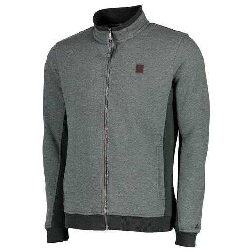 LERROS Sweatjacke in Fleeceoptik