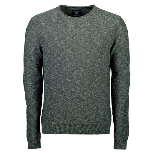 LERROS Leichter Strickpullover in Melange-Optik