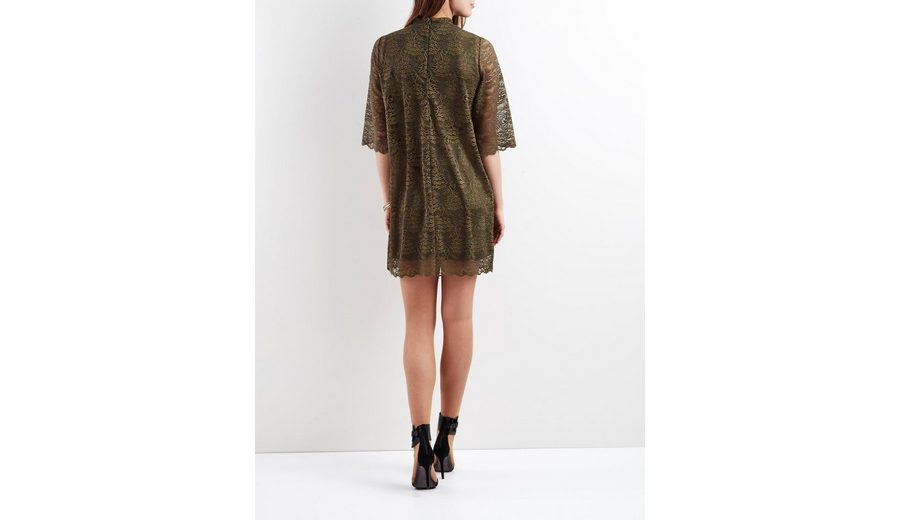 OBJECT Spitzen- Kleid Suche Nach Günstiger Online n6EQL6