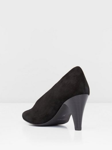 Bianco High-Cut- Pumps