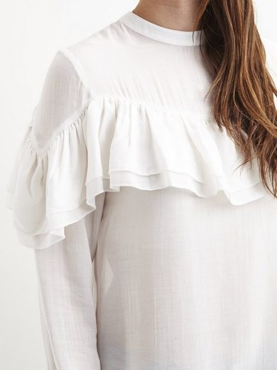 Object Feminine Bodice With Long Sleeves