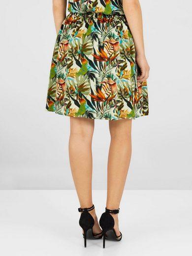 Yas Floral Miniskirt