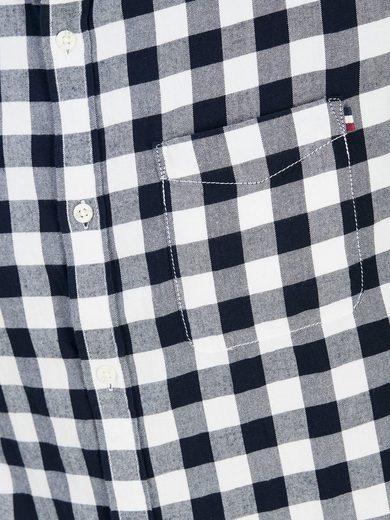 PRODUKT Kariertes Langarmhemd