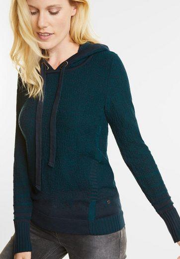 CECIL Sportiver Kapuzen Pullover