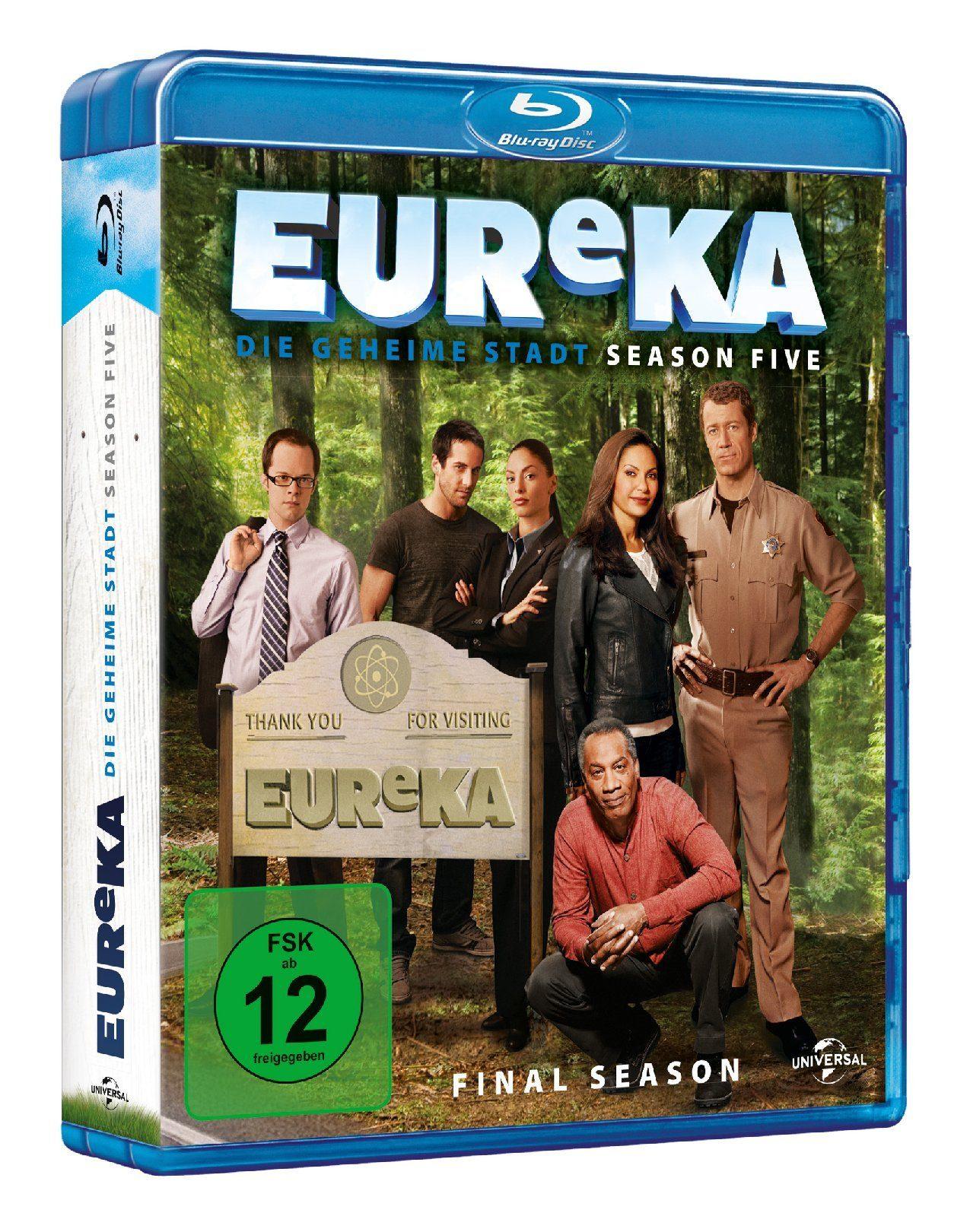 Universal EUReKA - Season 5 »Blu-ray«