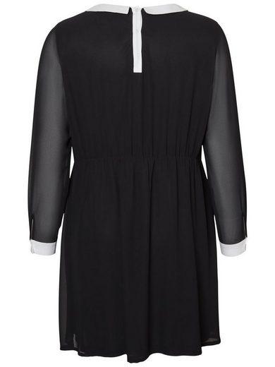 JUNAROSE Detailreiches Kleid