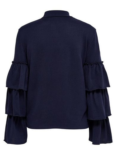 Only Ruffle Bodice With Long Sleeves