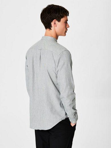 Selected Homme Rundhalsausschnitt- Hemd