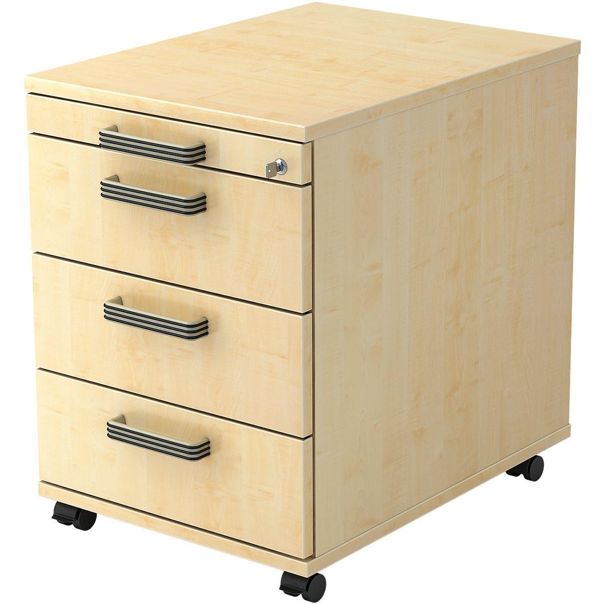 rollcontainer kiefer schubladen preisvergleich die besten angebote online kaufen. Black Bedroom Furniture Sets. Home Design Ideas