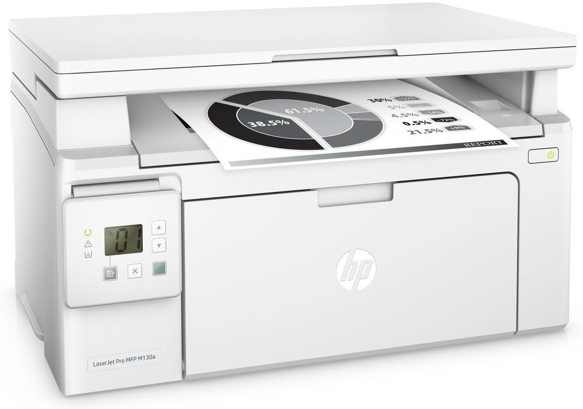HEWLETT-PACKARD Monolaser-Multifunktionsdrucker »LaserJet Pro MFP M130fw 4in1«