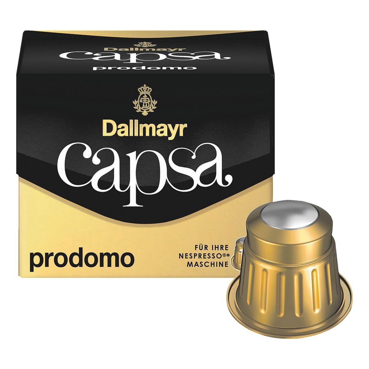 DALLMAYR Kaffeekapseln für Nespresso® »capsa Lungo prodomo«