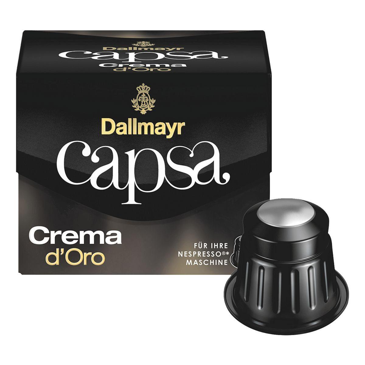 DALLMAYR Kaffeekapseln »capsa Crema d´Oro«
