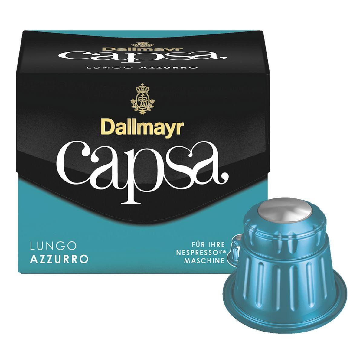 DALLMAYR Kaffeekapseln »capsa Lungo Azzurro«