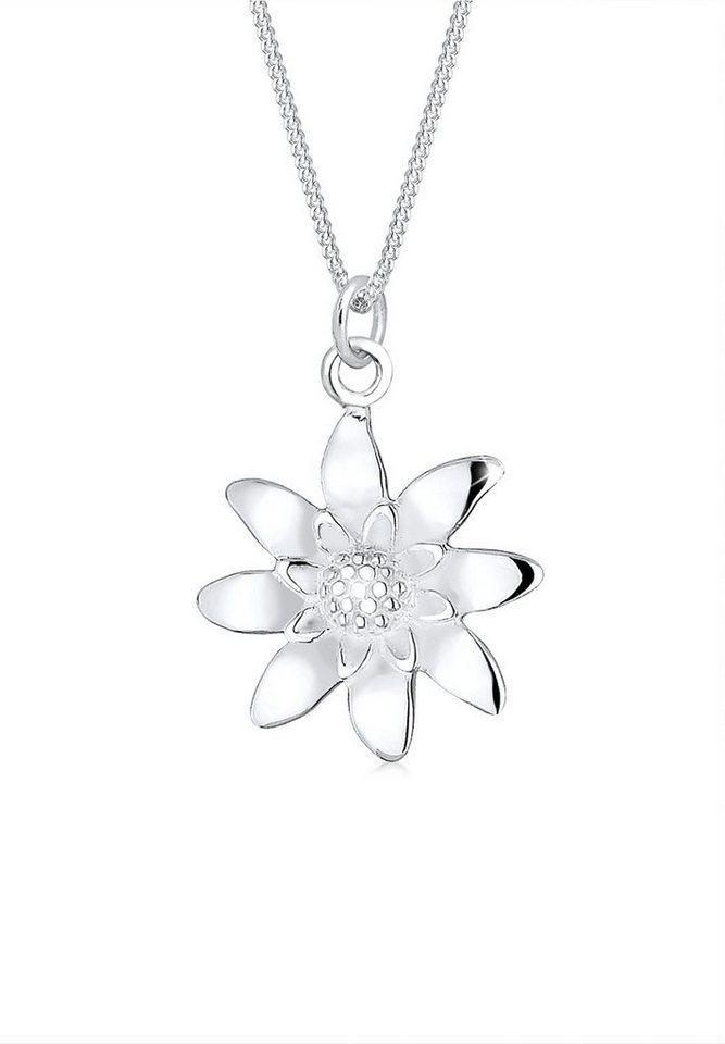 Silber halskette  Elli Halskette »Oktoberfest Edelweiss 925 Sterling Silber« online ...