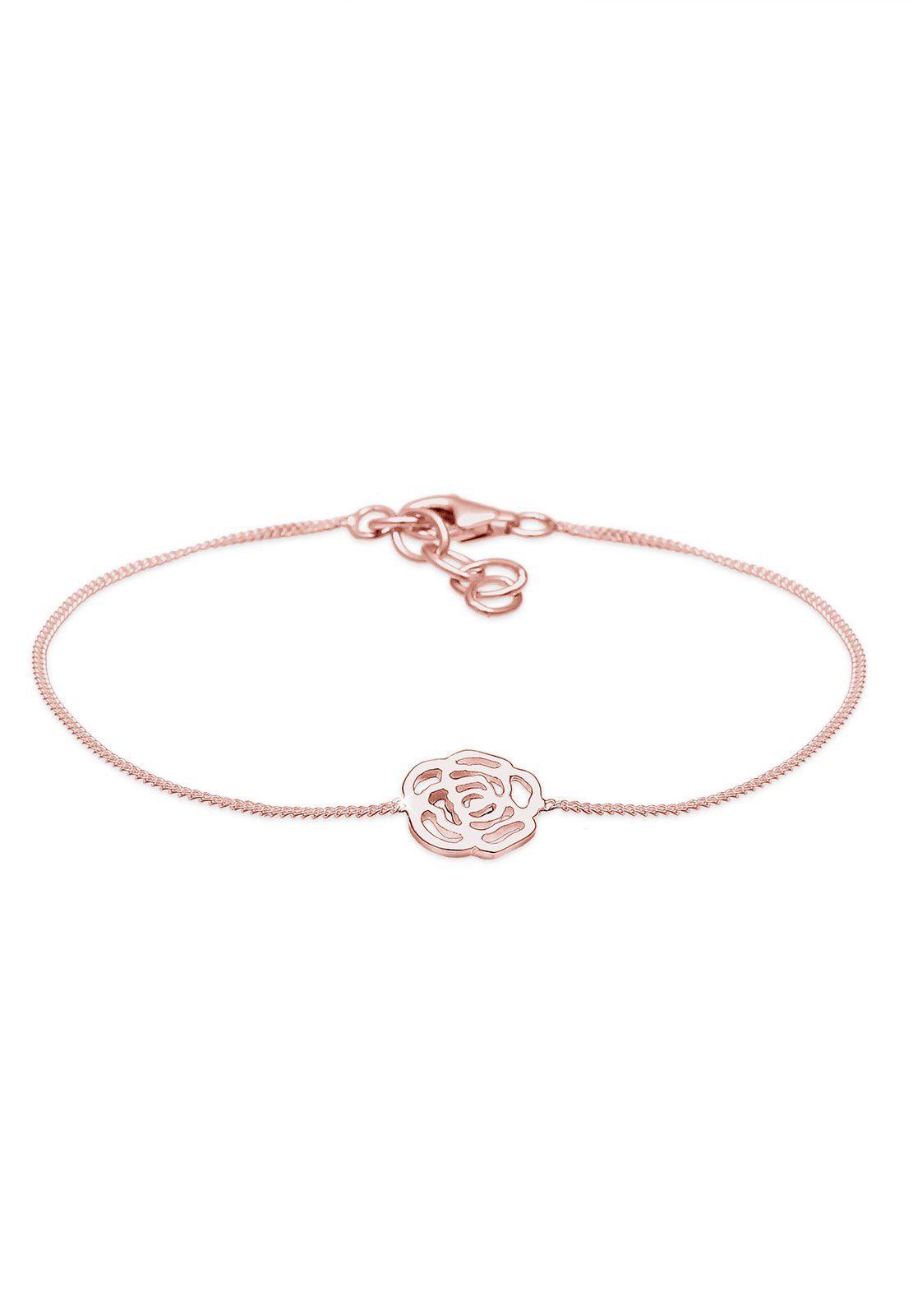 Elli Armband »Blume 925 Sterling Silber«