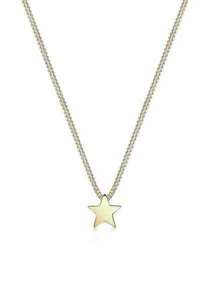 Elli Halskette »Stern Astro 375 Gelbgold«
