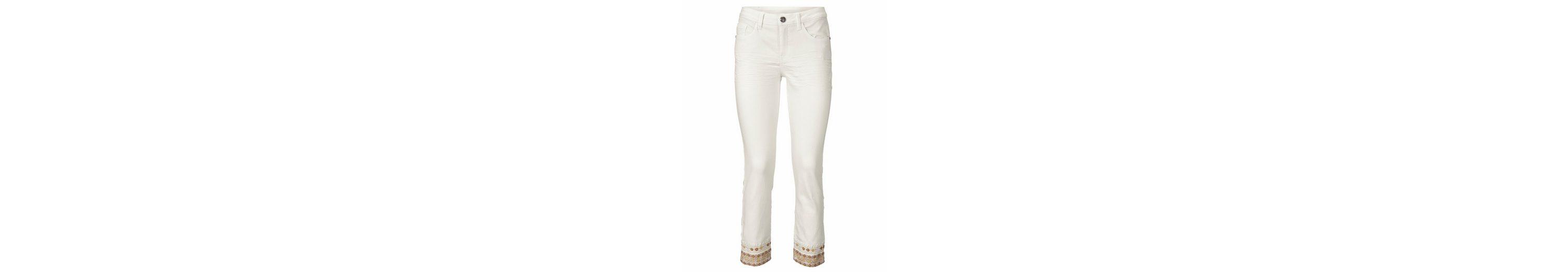 B.C. BEST CONNECTIONS by Heine 7/8-Jeans mit Stickerei Billig Verkauf 2018 Sehr Billig Zu Verkaufen Billig Kaufen YQAn177R
