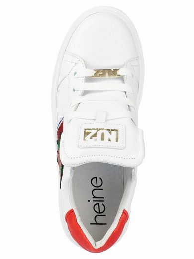 Heine Sneaker With Trendy Application