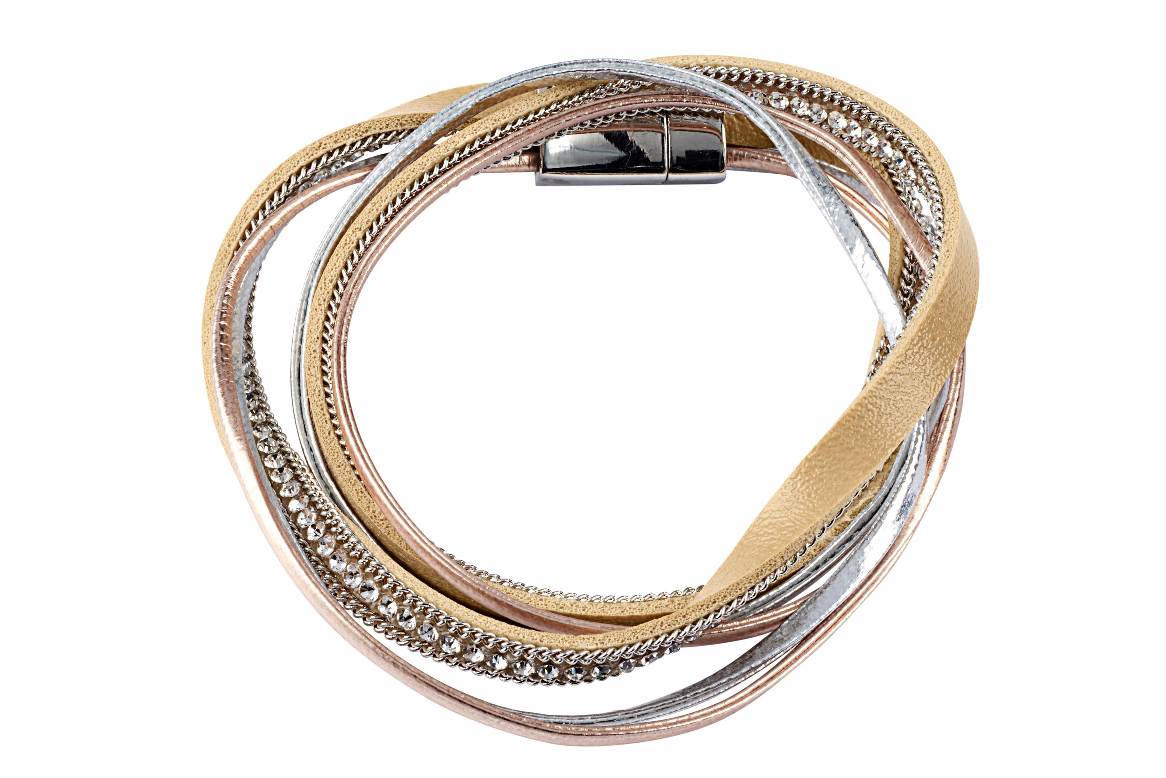 Heine Armband in Metallic-Farben