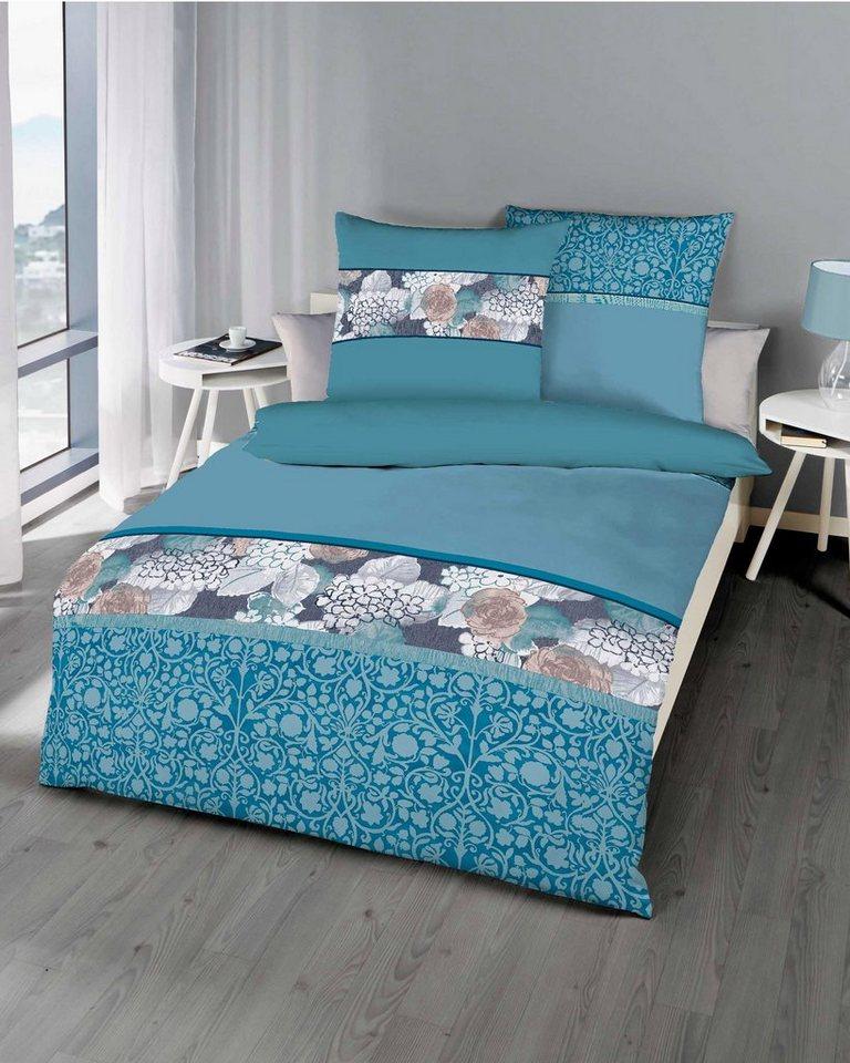 bettw sche ylvie kaeppel mit bl ten motiven versehen. Black Bedroom Furniture Sets. Home Design Ideas