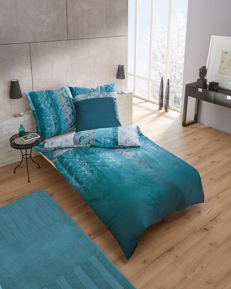 bettw sche evolution kaeppel mit breiten vertikalen streifen online kaufen otto. Black Bedroom Furniture Sets. Home Design Ideas