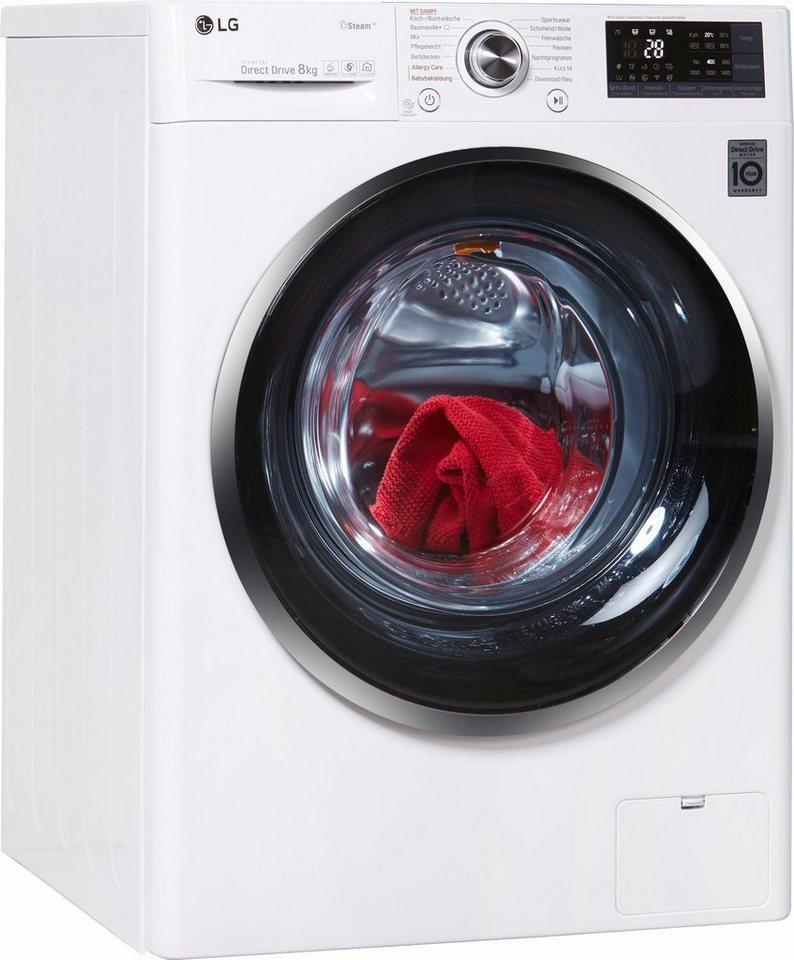 lg waschmaschine f 14wm 8ts2 8 kg 1400 u min otto. Black Bedroom Furniture Sets. Home Design Ideas