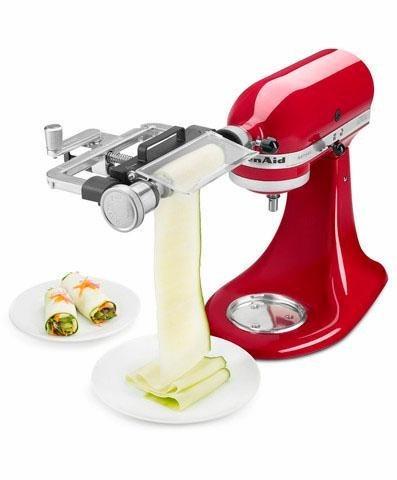 KitchenAid Gemüseblattschneidvorsatz 5KSMSCA, Zubehör für alle KitchenAid-Küchenmaschinen