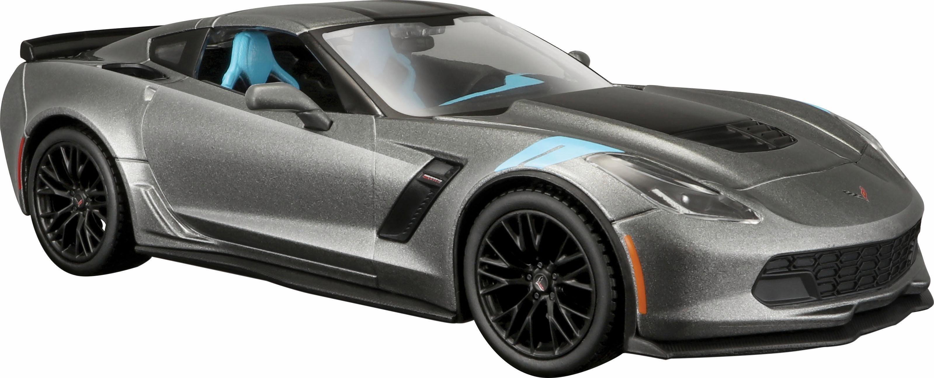 Maisto® Sammlerauto, »Chevrolet Corvette Grand Sport 17, 1:24, grau«