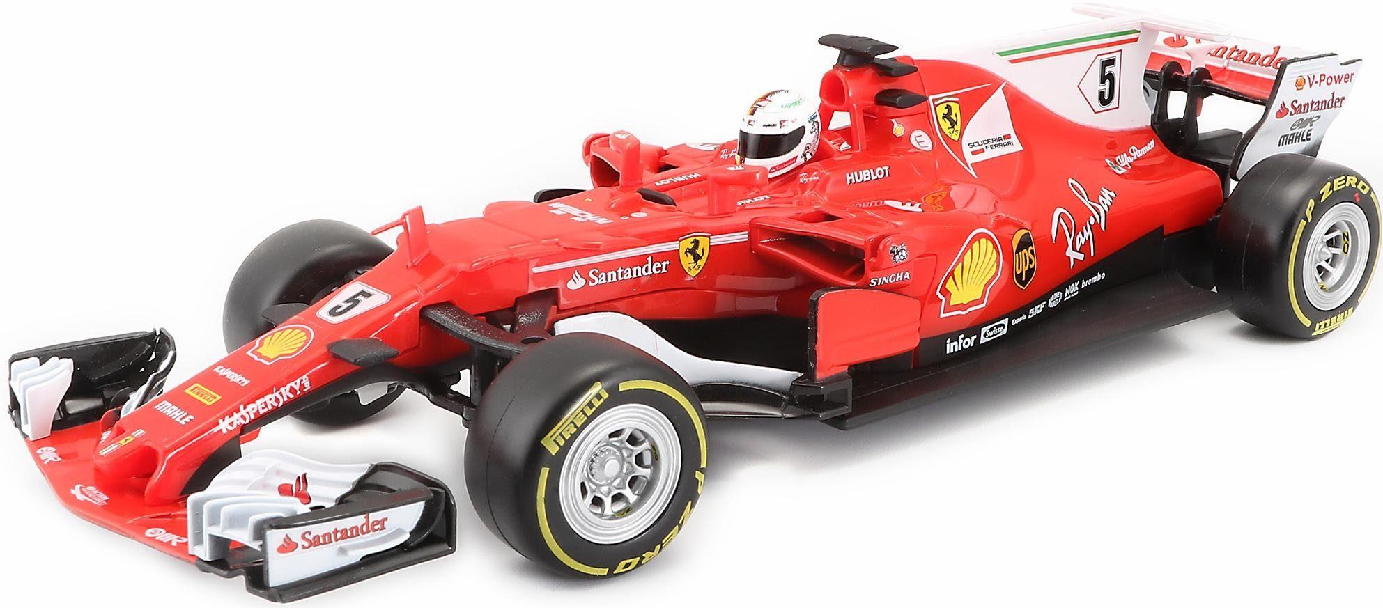 Maisto Tech® RC Auto, »R/C F1 Ferrari '17, 1:24, rot«