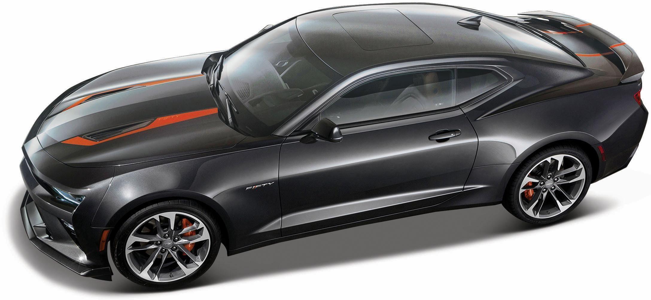 Maisto® Sammlerauto, »Chevrolet Camaro '17, 1:18, metallgrau«