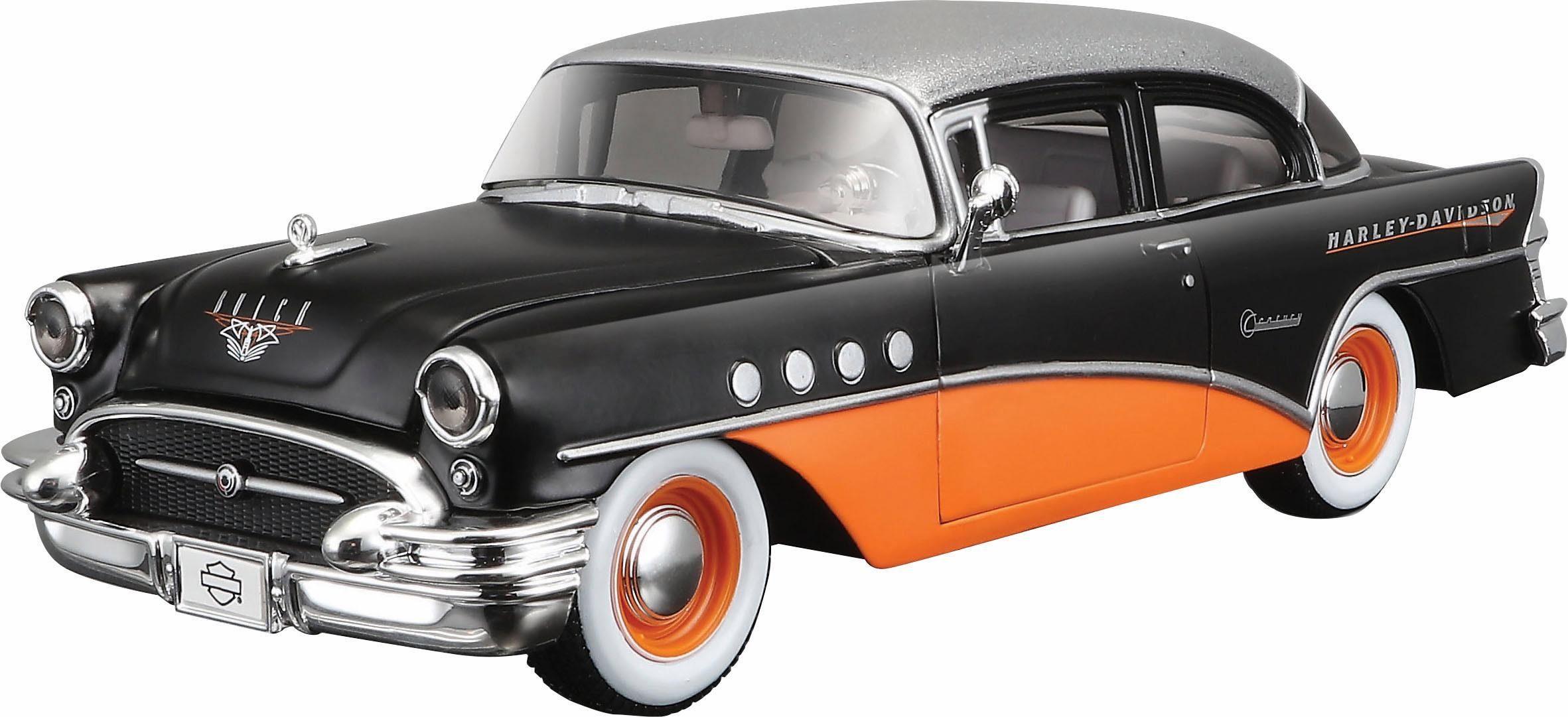 Maisto® Sammlerauto, »Buick Century '55 HD Design, 1:24, schwarz«