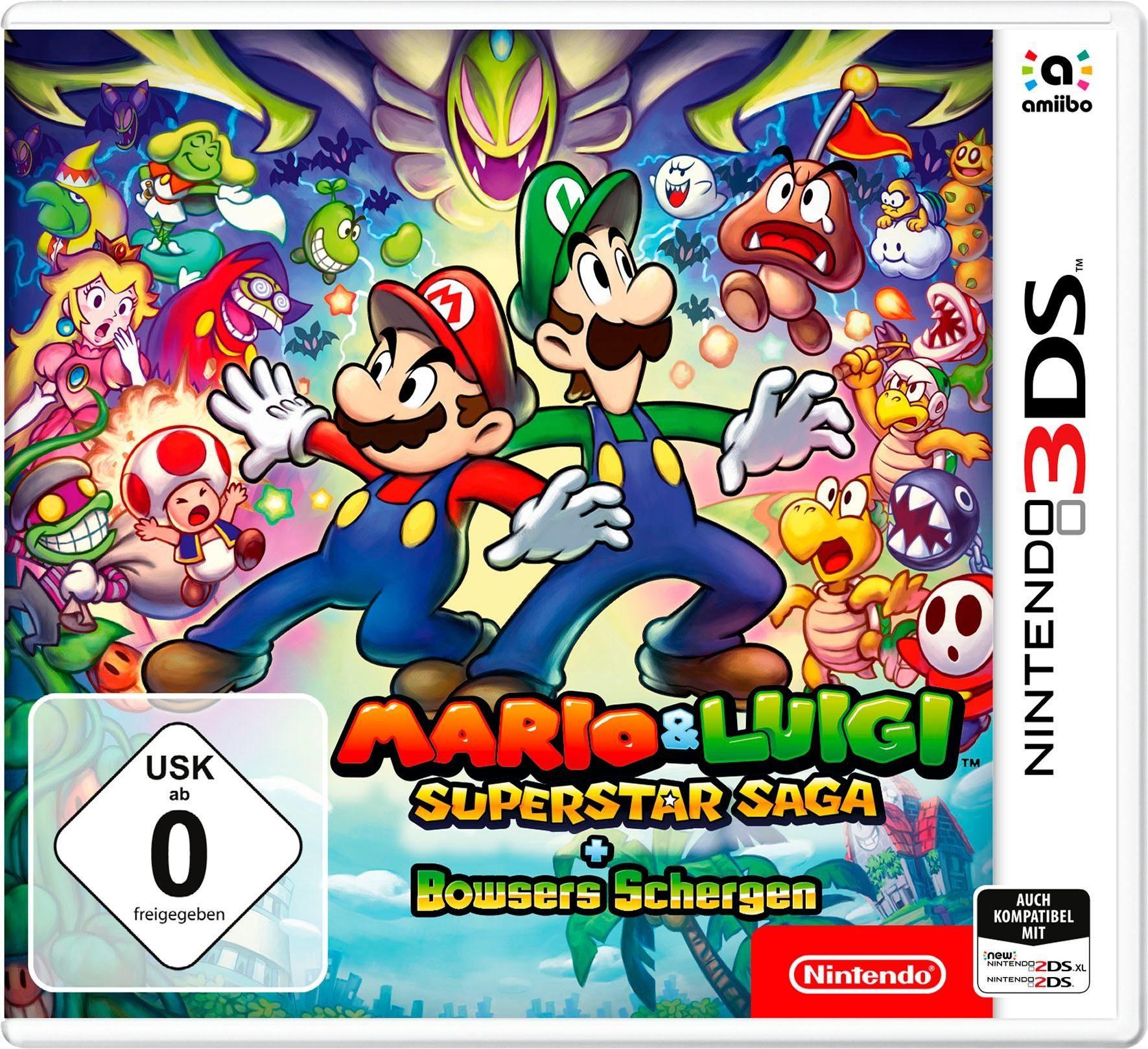 Mario & Luigi: Super Star Saga + Bowsers Schergen Nintendo 3DS
