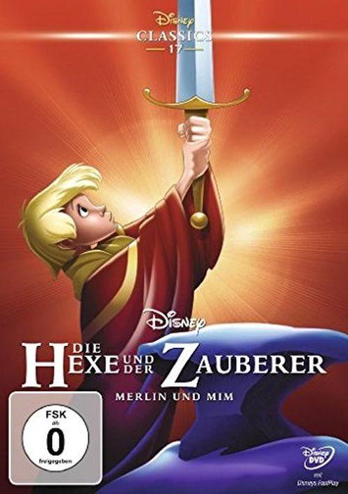 Disney DVD - Film »Die Hexe und der Zauberer (Disney Classics)«